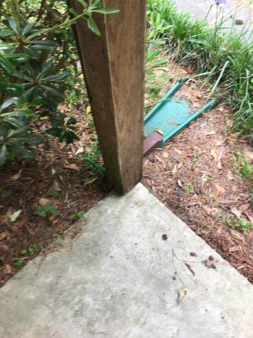 Porch Column Replacement in Tallahassee