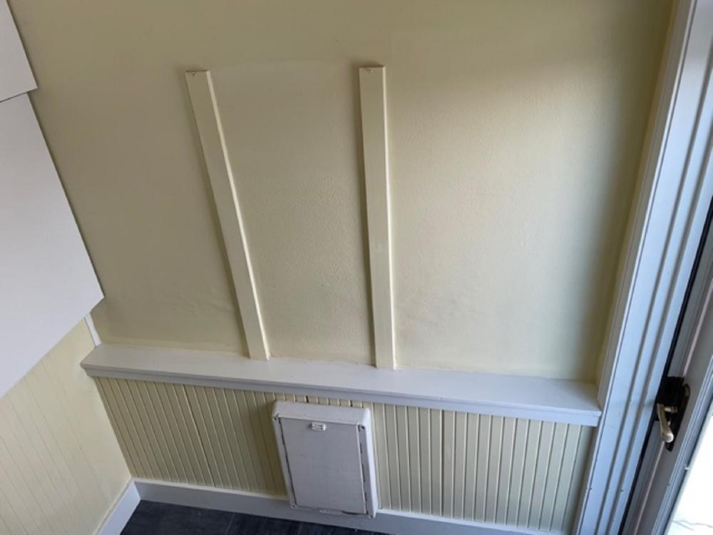 Sugarhouse Drywall Repair Before