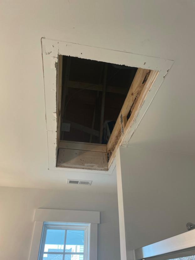 Before Attic Ladder Install