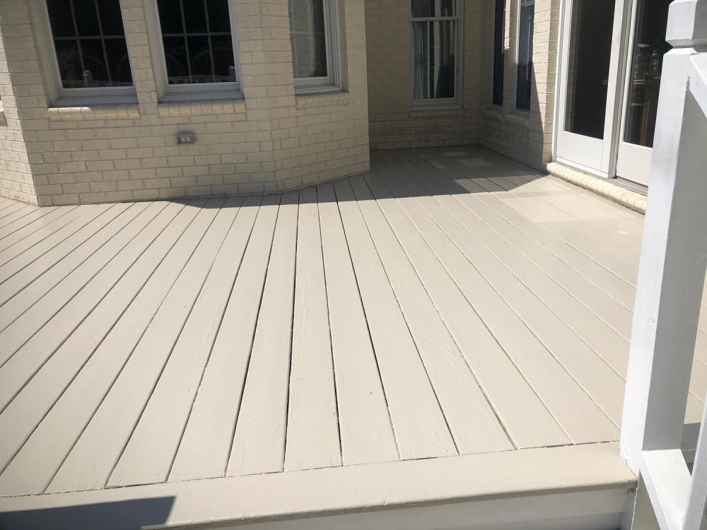 Deck refresh/paint