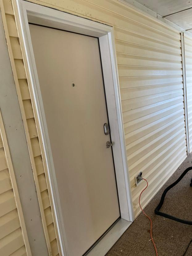 After Front Door Install