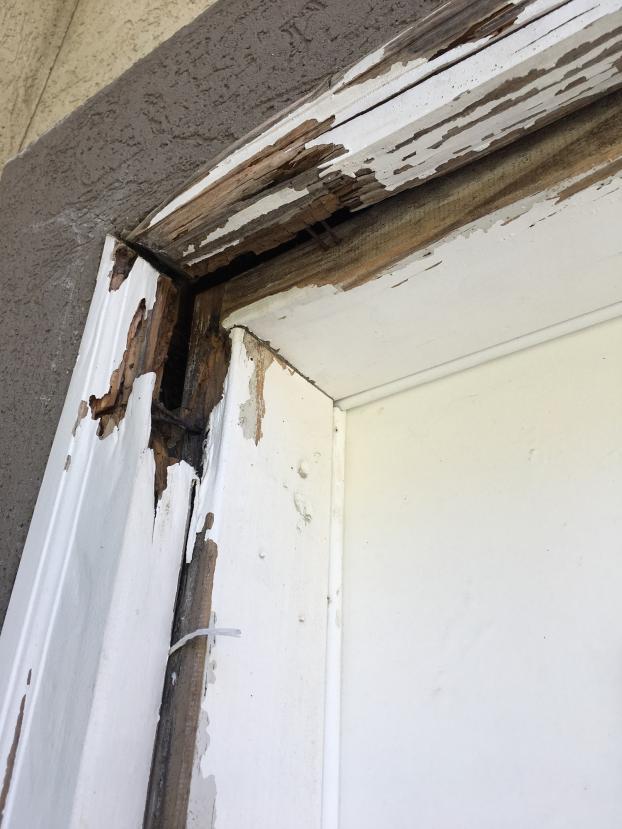 Holladay Door Frame Repair (Before)
