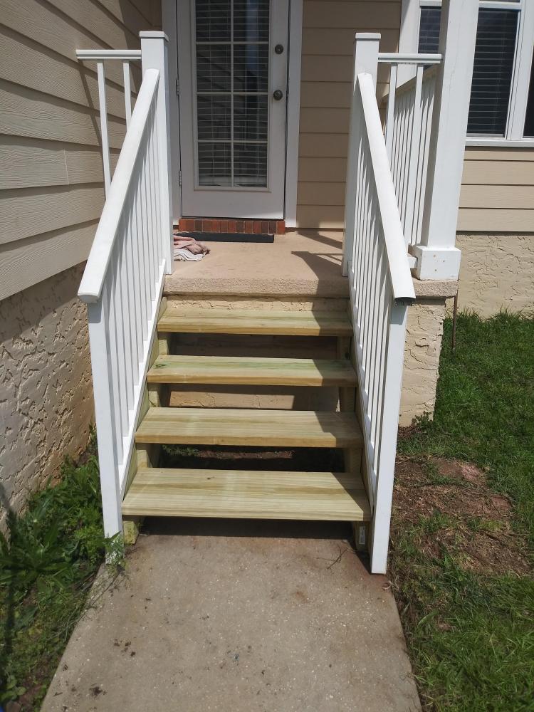 Stair Repair in Tallahassee