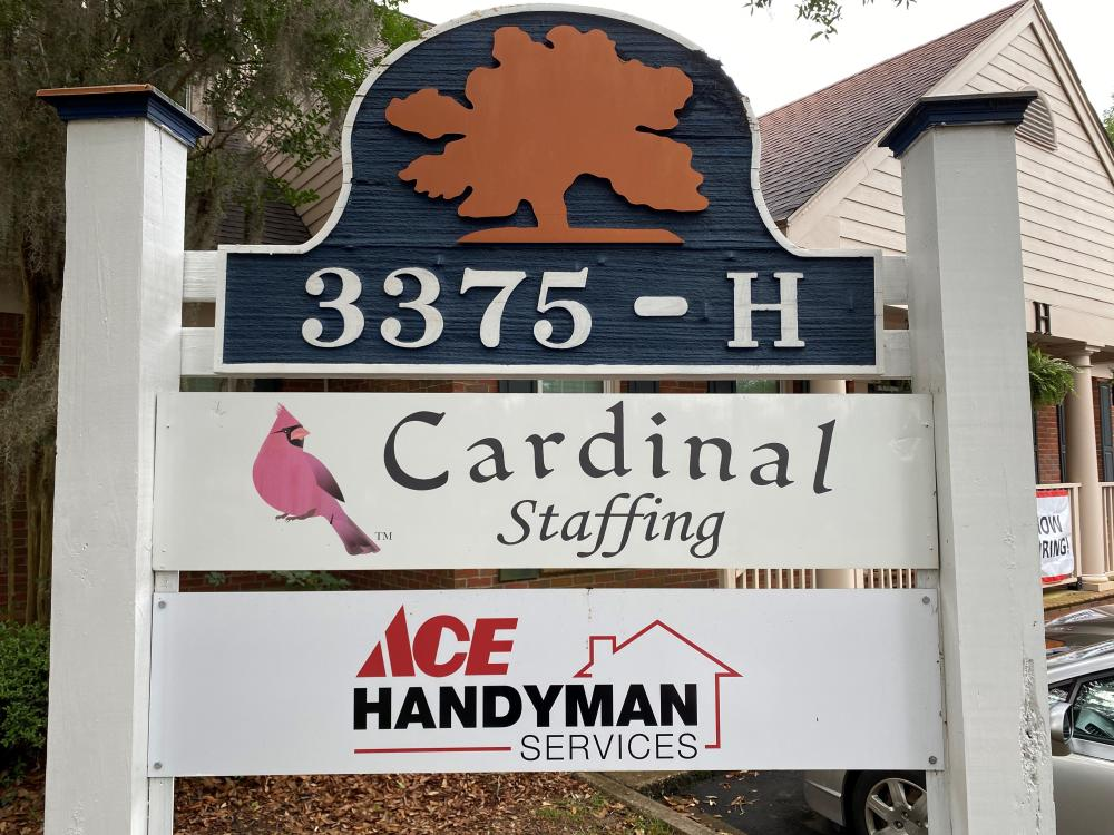 Office Sign Touch Up in Tallahassee