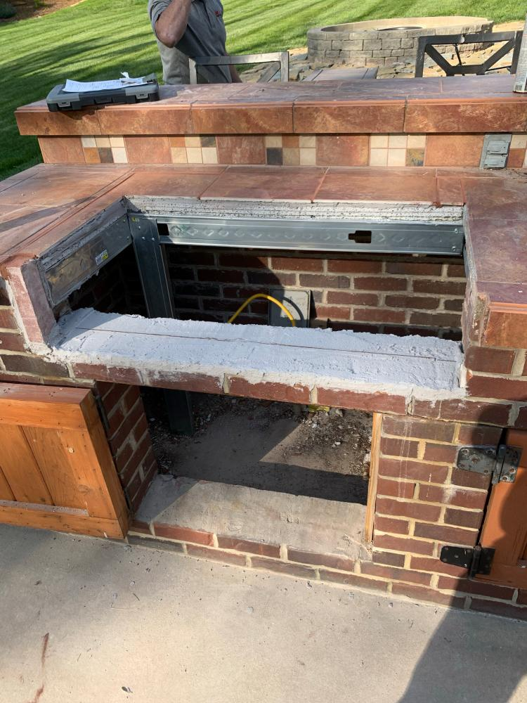 Remove/Replace Gas Grill