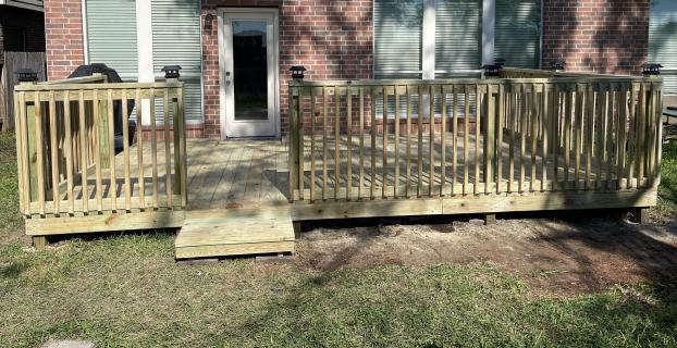 Deck Repair - After
