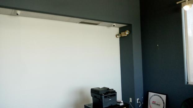 After - Wall Decal Removal