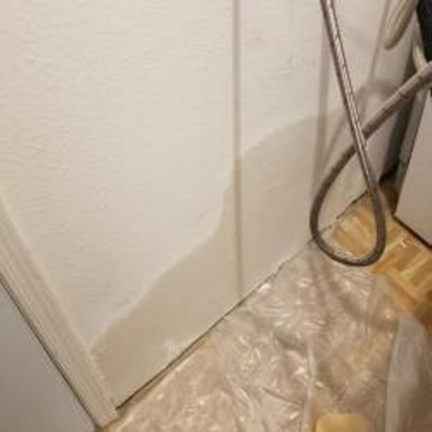 After drywall repair
