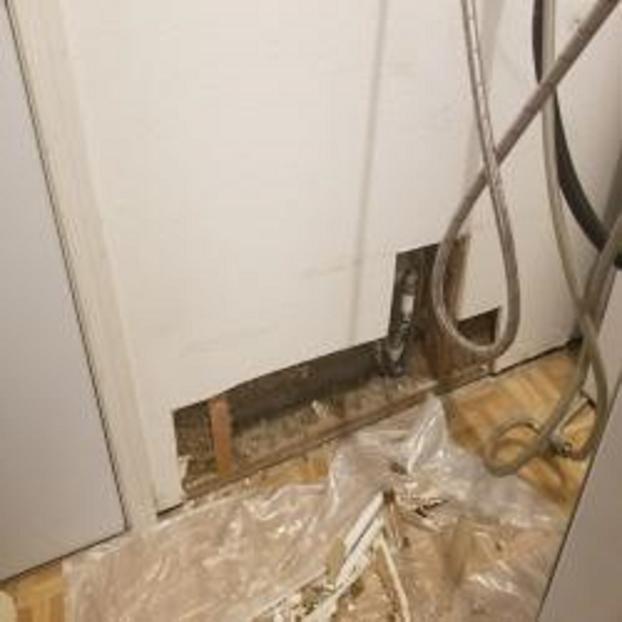 Before drywall repair