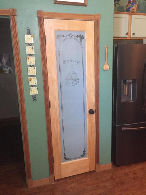 New pantry door installation