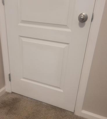 Door repair (after)
