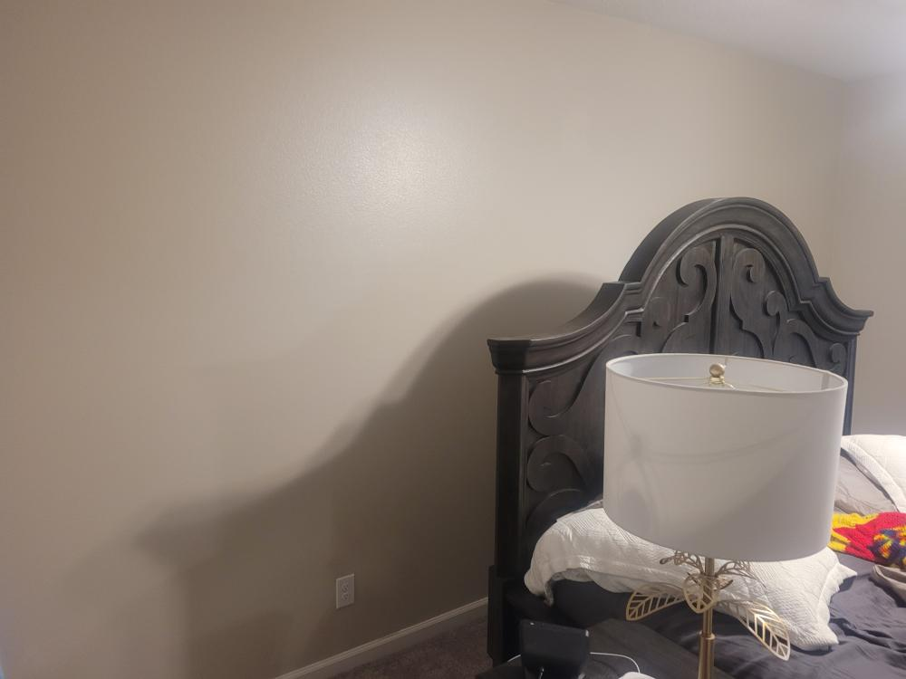 Accent wall (after)