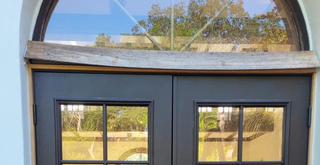 Door trim replacement (before)