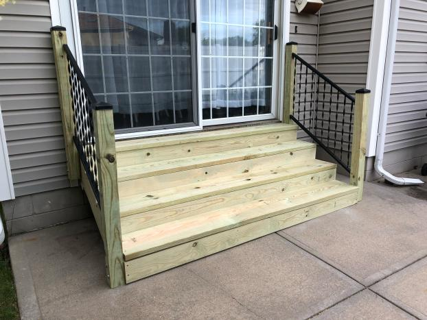 After- Beautiful Stairs & Railings