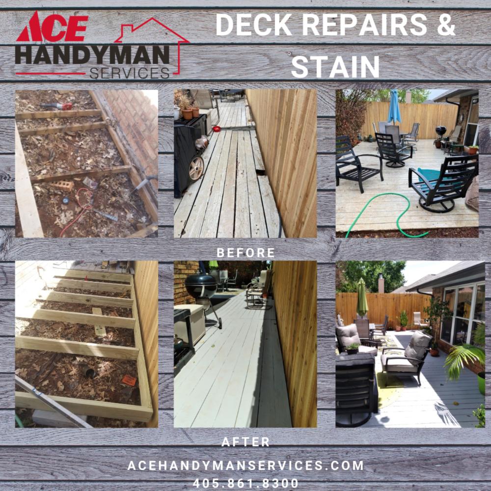 Deck Repair and Refinishing