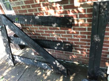 Rotted Wood Gate