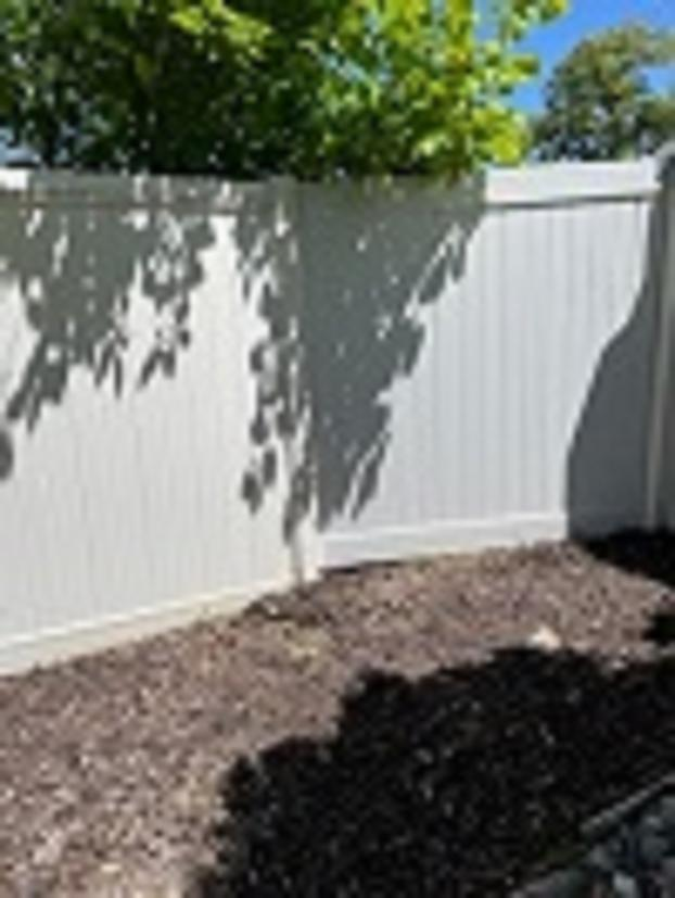 After- Fence