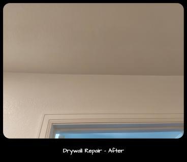 Drywall Repair - After