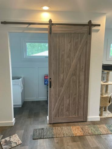 After Barn Door Install