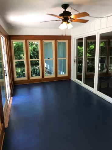 After sunroom refresh