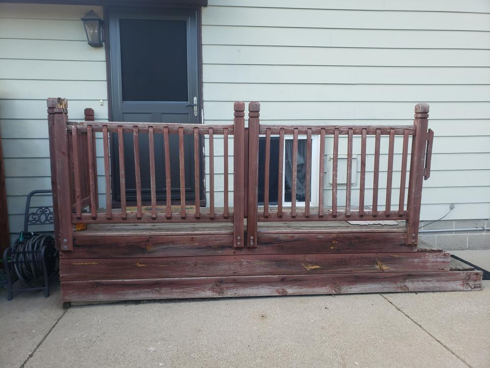 Porch Deck Before