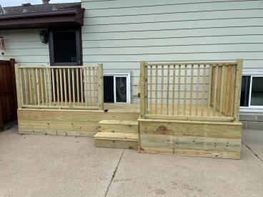 Porch Deck After