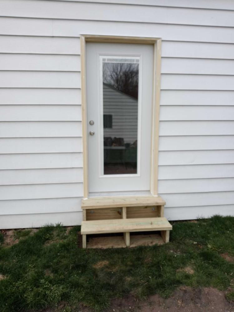 Window Replaced with Door