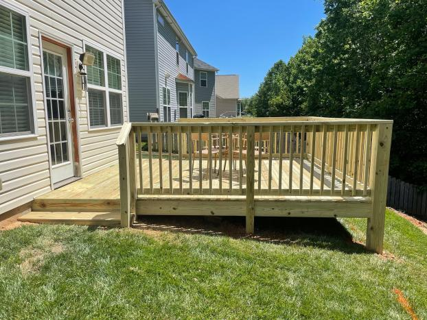 Remove Old Deck and Build a New Extension Deck - After