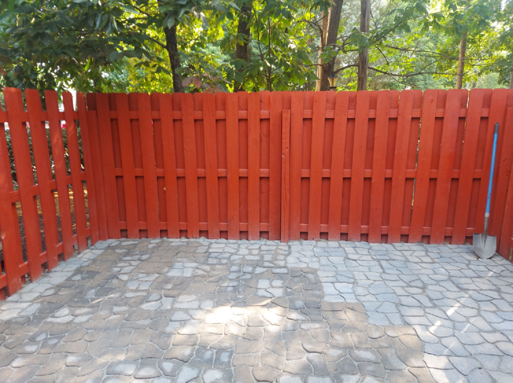Flooring and Fence Renovation - After