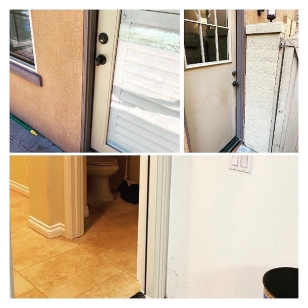After Repairs for Door Jambs and Casings in Orange County