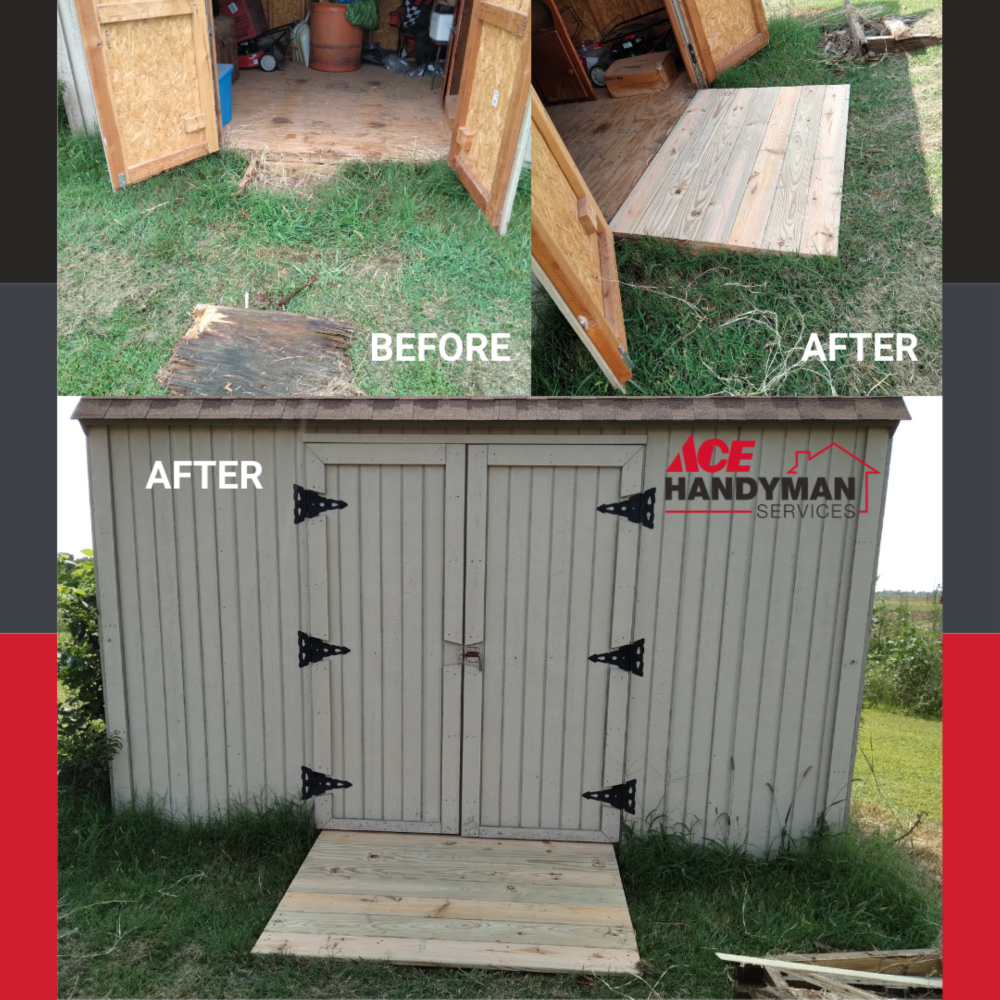 Shed Ramp Construction