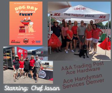 Ace Hardware-A&A Trading Post and Ace Handyman Services Metro Denver Dog Day Event