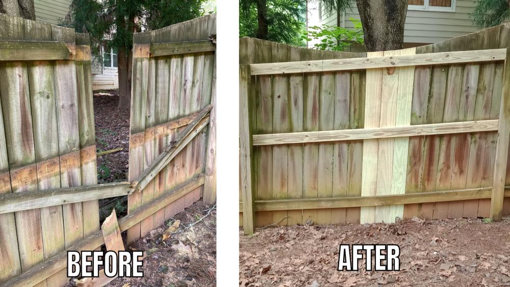 Fence Repair - Marietta, GA
