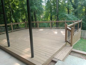 Deck Design, Build and Stain - Roswell, GA