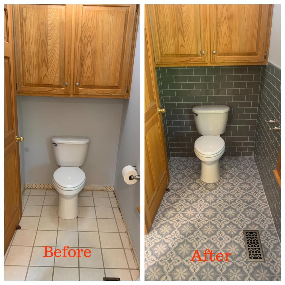 Toilet Room Redo