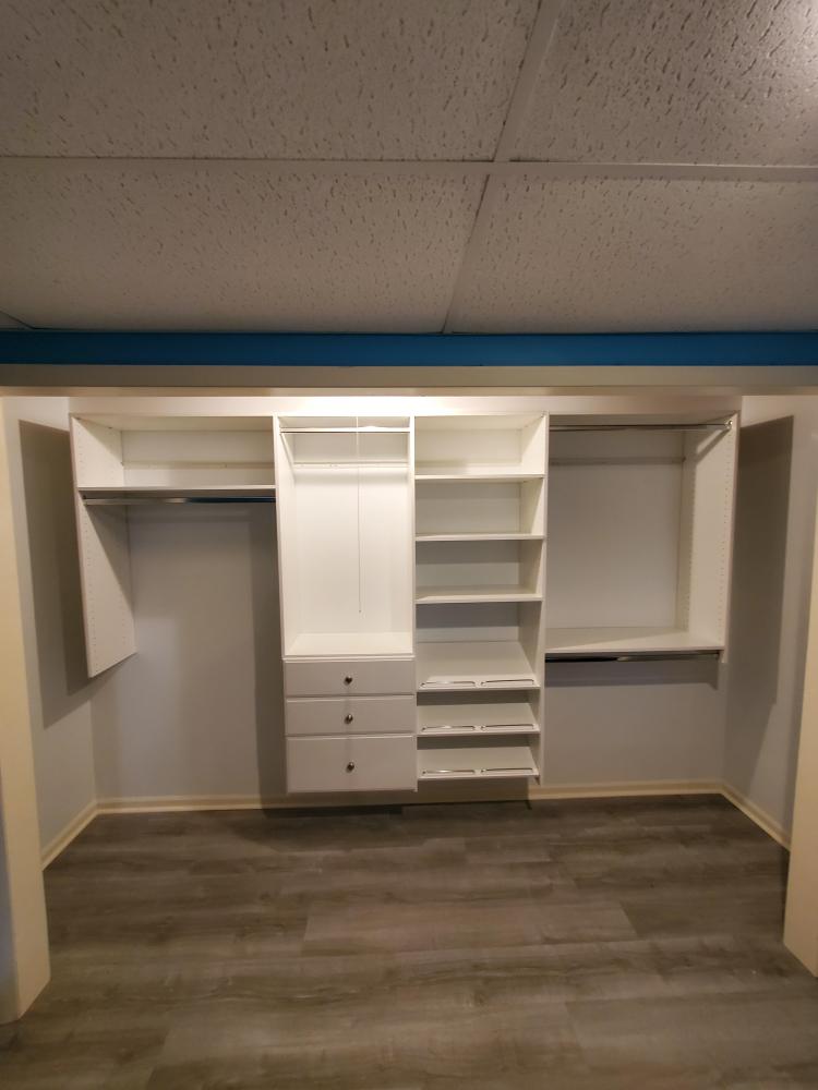 Installed Closet System