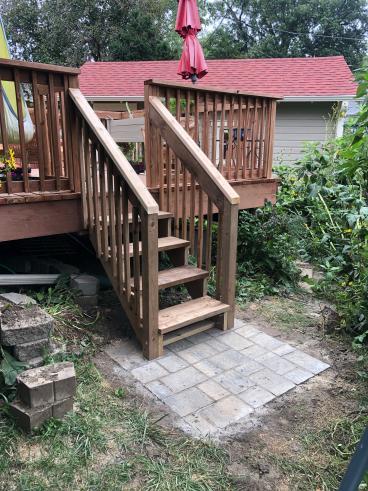 New Stairs & Landing