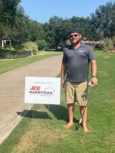 Ace Handyman Services Fort Bend County Golf Sponsorship