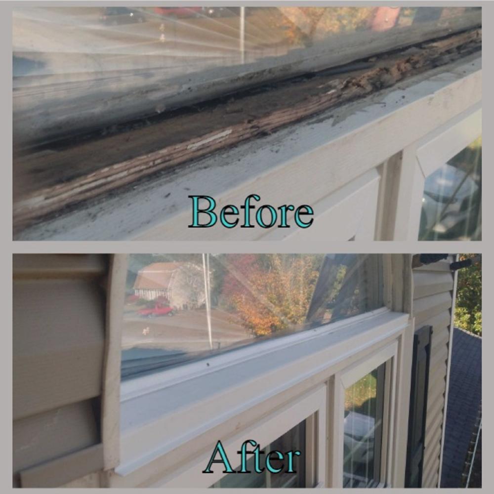 Window rot repair