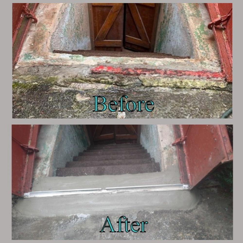Bulkhead Footer Restoration