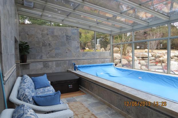 Endless pool / sunroom project 2013