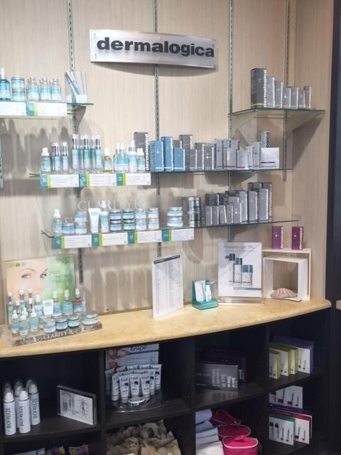 We carry Dermalogica and Clarity Rx