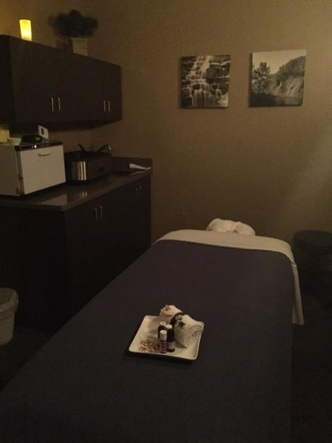 One of our 8 Massage Rooms, we have 2 Couples Rooms as well