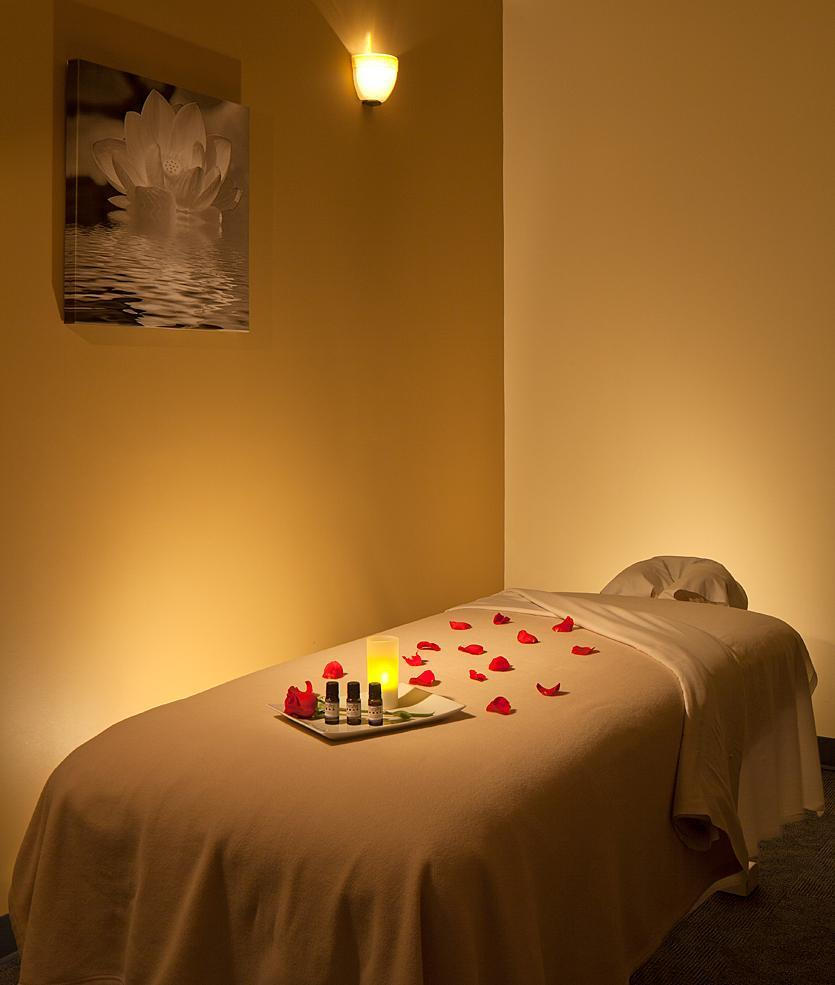 Massage and facial room