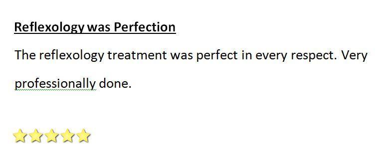 Reflexology was Perfection