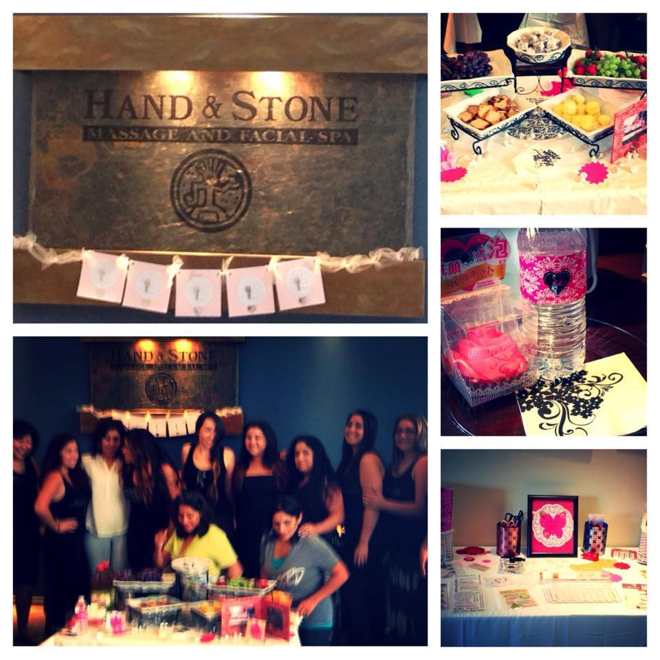 Hand and Stone Hosting a Spa Party