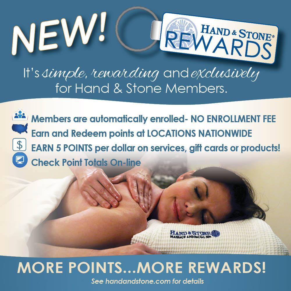 Hand and Stone REWARDs is here!