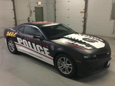 Wentzville Police Department Car Wrap