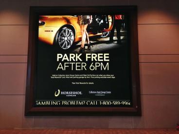 Backlit Banner: Horseshoe Casino Cleveland