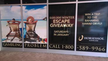 Escape Giveaway, Horseshoe Casino Cleveland